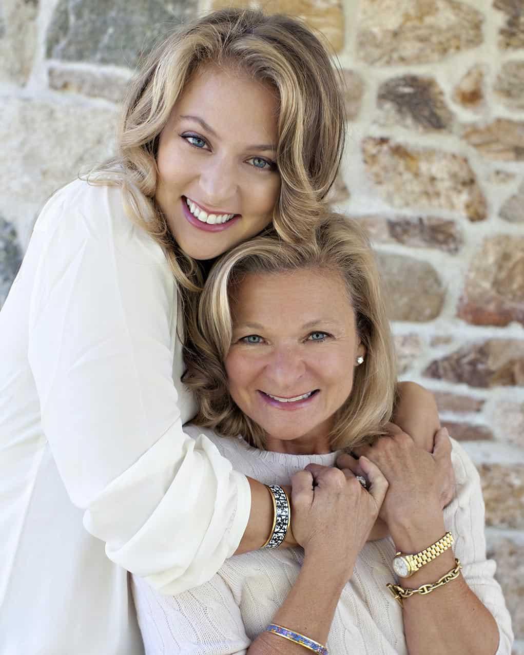 Francesca Serritella and Lisa Scottoline